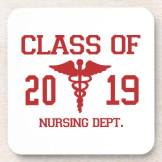 Class Of 2019 Nursing Dept Drink Coaster