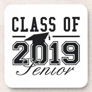Class Of 2019 Senior Drink Coasters