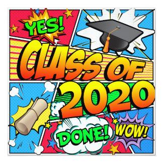 Class of 2020 Comic Book Card