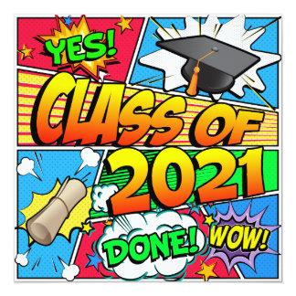 Class of 2021 Comic Book Card
