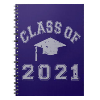Class Of 2021 Graduation - Grey 2 Notebooks