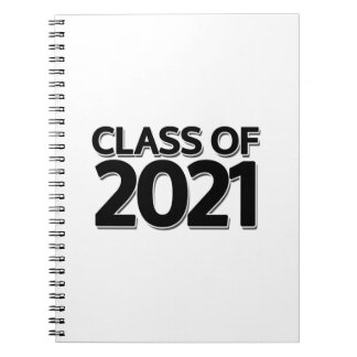 Class of 2021 notebooks