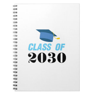 Class of 2030 Girl Boy Notebook