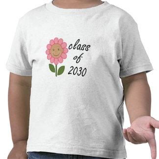 Class of 2030 Pink Daisy T-shirt