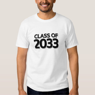 Class of 2033 tees