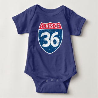 Class of 2036 Baby One Piece Baby Bodysuit
