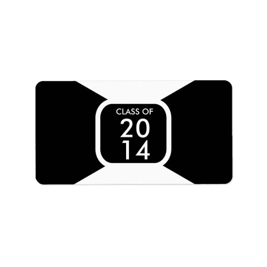 Class of 20** year template label