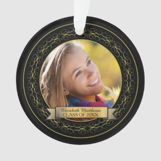 Class of 20XX Graduation Photo Keepsake Ornament