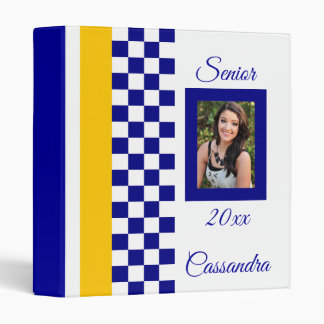 Class of 20xx Personalized Keepsake Album Vinyl Binders