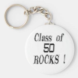 Class of '50 Rocks! Keychain
