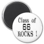 Class of '66 Rocks! Magnet