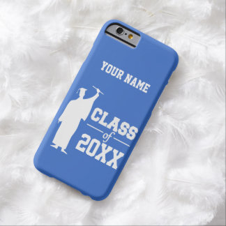 Class of ANY year custom text & color cases Barely There iPhone 6 Case