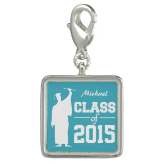 Class of ANY year custom text & color charm