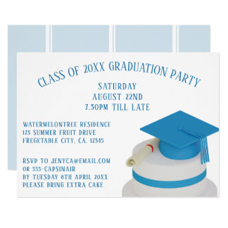 Class Of Graduation Party Invitations