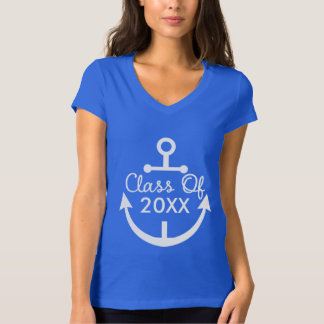 Class of Personalized School Nautical Anchor Shirt