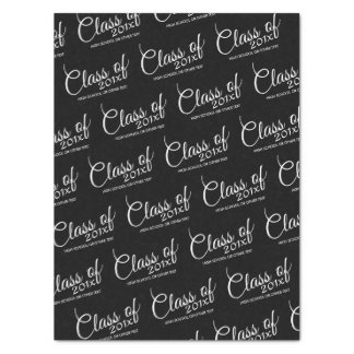 Class of with Custom Year and High School Tissue Paper