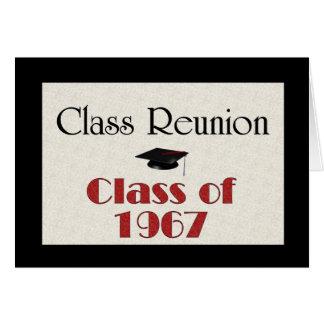 Class Reunion 1967 Card