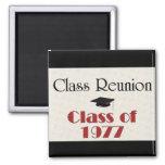 Class Reunion 1977 Magnet