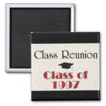Class Reunion 1997 Square Magnet
