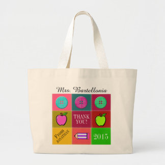 Class Teacher Thank You Tote - SRF Jumbo Tote Bag