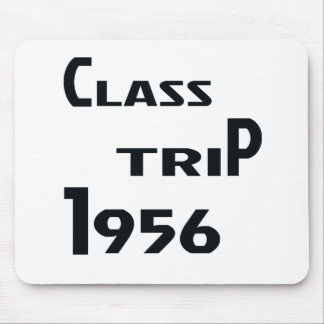 Class Trip 1956 Mouse Pad