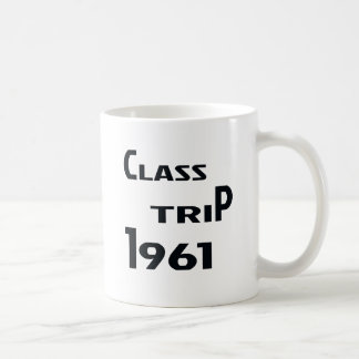 Class Trip 1961 Coffee Mug