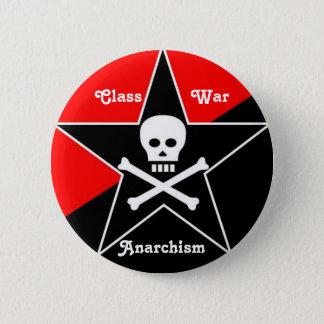 Class War Anarchism 2 Inch Round Button