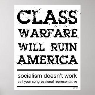 Class Warfare Poster