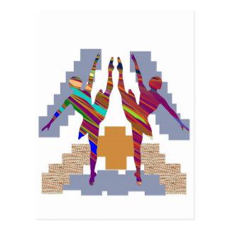 CLASSE DE DANSE DE BALLET : Aimez mon équipe Carte Postale