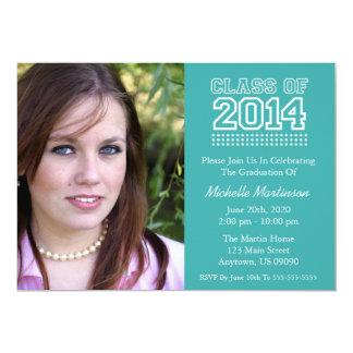 Classe de fac de l'obtention du diplôme 2014 invitations personnalisables