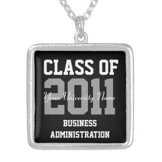 Classe personnalisée d'obtention du diplôme de colliers