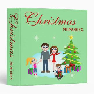 Classeur d'album photos d'album/de matin de Noël