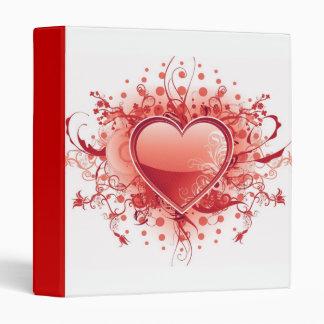 Classeur de conception de coeur d'Emo