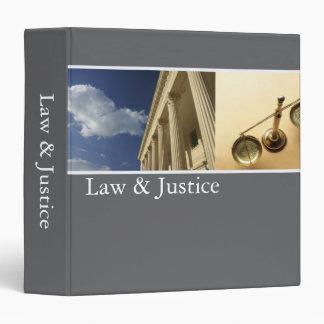Classeur de loi et de justice
