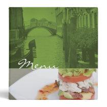 Classeur de menu classeur