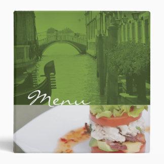 Classeur de menu