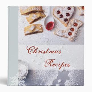 Classeur de recette de Noël