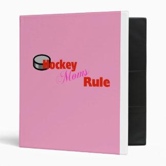 Classeur de règle de mamans d'hockey