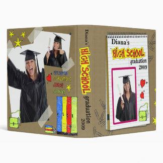 Classeur d'obtention d'un diplôme d'études seconda