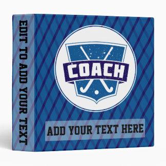 Classeur personnalisable de vinyle de car d'hockey