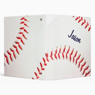 Classeur personnalisé de base-ball
