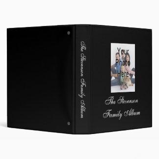 Classeur personnalisé par coutume d'album photos