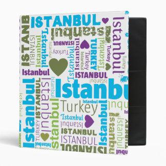 Classeur turc d'album photos de typographie d'Ista