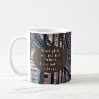 Classic 11 oz Mug with Book Fairy Tale Quote