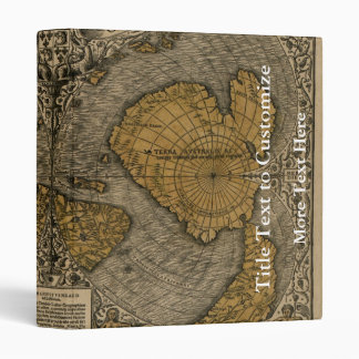 Classic 1531 Antique World Map by Oronce Fine Vinyl Binder