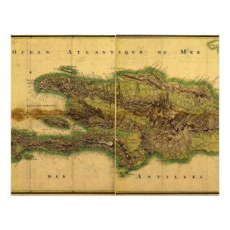 Classic 1805 Antiquarian Map of Hispaniola Flyer Design
