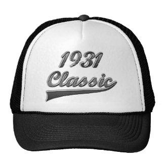 Classic 1931 trucker hat