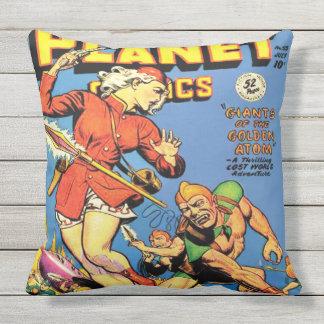 CLASSIC 1940's SCI FI COMICS DESIGN Throw Pillow