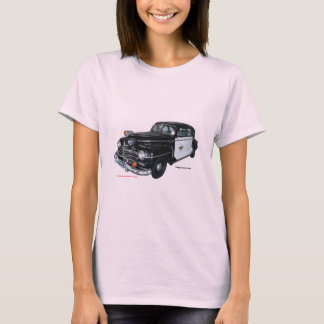 Classic_1947_Plymouth_Police_Car_Texturized T-Shirt