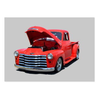 Classic 1950's Chevrolet Pickup Truck Large Business Card